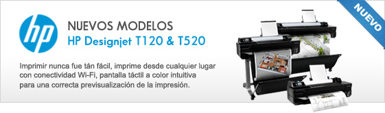 HP Designjet T120 T520
