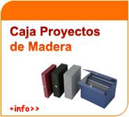 Caja de proyectos de madera