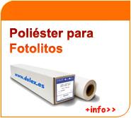 Poliester para fotolitos