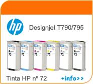 Tintas HP Designjet T790
