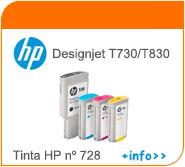 Tinta HP T730 y T830