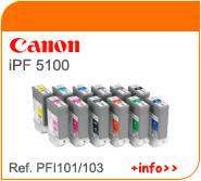 Tintas Canon PFI101
