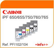 Tintas Canon PFI104