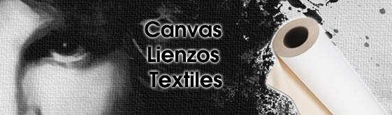 Lienzos, Canvas y Textiles