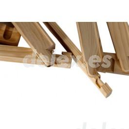 Bastidor de pino para canvas