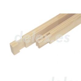 liston refuerzo bastidor madera