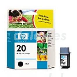 Cartucho de tinta C6614DE color negro