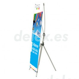 Display X-Banner ajustable