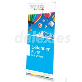 Expositor L-Banner Display Deluxe