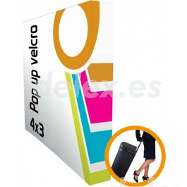 Pop-up display aluminio