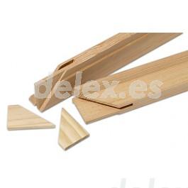 Listones de madera de pino