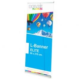 Expositor L-Banner Display Deluxe