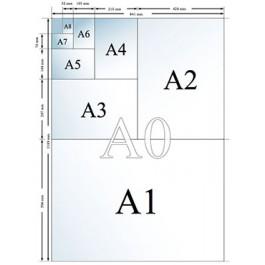 Papel impresora a1