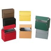 Caja proyectos cartón color