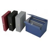 Caja archivo de planos en madera