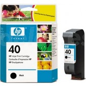 Tinta HP Negro nº 40 42 ml. 51640AE