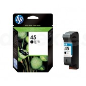 Tinta HP Negro nº 45 42 ml. 51645AE
