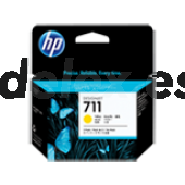 Tinta HP 711 Amarillo - 29 ml. (Pack 3 uds.) CZ136A