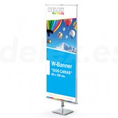 Wall Banner doble cara
