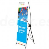 Expositor X-banner 60 x 160