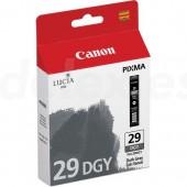 tinta canon pgi-29dgy pixma pro