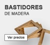 Bastidores de madera para lienzos