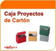 Caja proyectos de cartón
