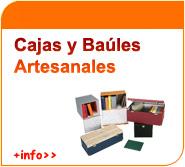 Cajas y baúles artesanales