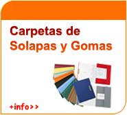 Carpetas de solapas y gomas