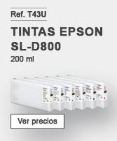 Tintas Epson SureLab SL-D800