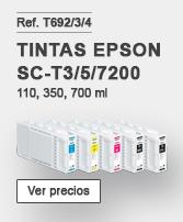 Tinta Epson SC-T3200/T5200/T7200