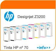 Tintas HP designjet Z3200