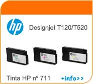 Tintas HP T120/T520