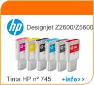Tinta HP Z2600 Z5600