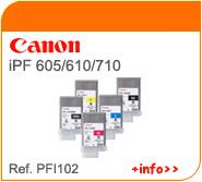 Tintas Canon PFI102