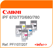 Tinta Canon PFI107