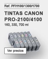 Tintas Canon PFI1100
