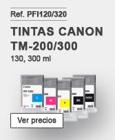 Tintas Canon PFI120
