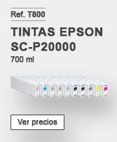 Tintas Epson SC-P20000
