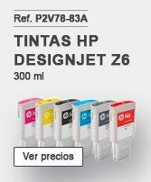 Tintas HP designjet Z6