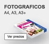 Papel Fotografico A4, A3