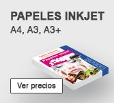 Papel Inkjet A4, A3
