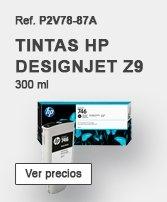 Tintas HP designjet Z9