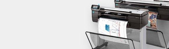 HP T830 MFP Escáner