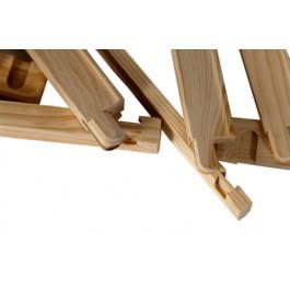 Bastidores y listones de madera