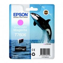 Cartucho tinta Epson T7606