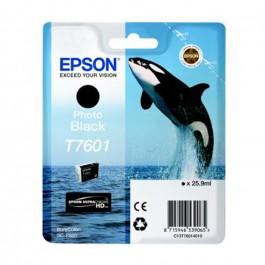 Cartucho tinta Epson t7601 Sc-P600