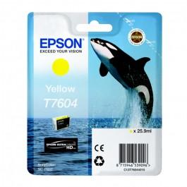 Cartucho tinta Epson T7604