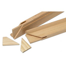 Listones bastidor de madera 60