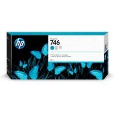 Tinta HP 746 Cian de 300 ml. p2v80A